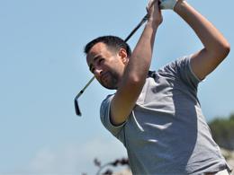 Anthony Dube - Golf Action
